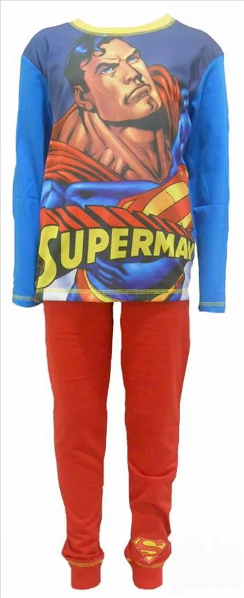 Superman Boys Pyjamas PB294 (1).JPG by Thingimijigs