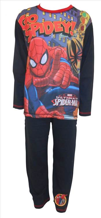 Spiderman Boys Pyjamas PB255.JPG by Thingimijigs