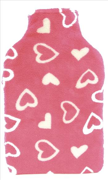 Hearts Hot Water Bottle HH215.jpg by Thingimijigs