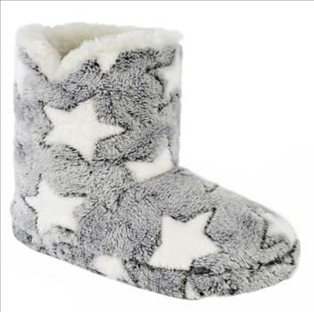 Ladies Star Mule Slippers FT1199 (4).jpg by Thingimijigs