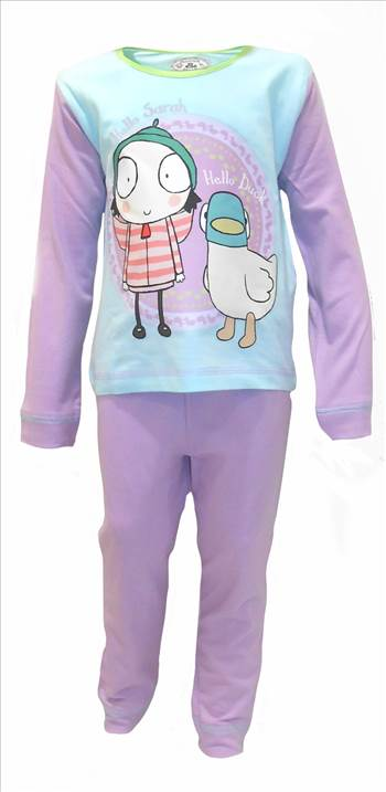 Sarah & Duck Pyjamas PG297 (3).JPG by Thingimijigs