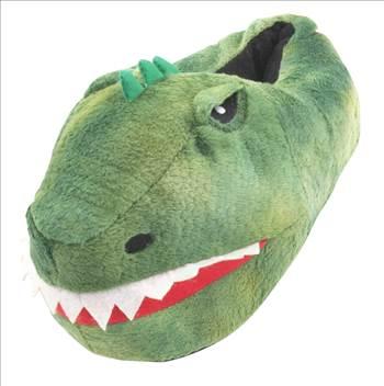 Dinosaur Head Slippers.jpg by Thingimijigs