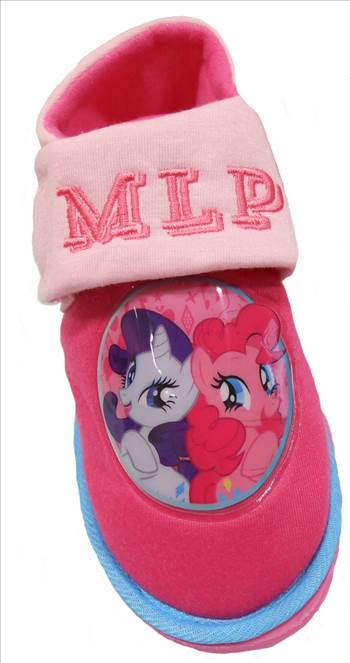My Little Pony Slippers.JPG by Thingimijigs