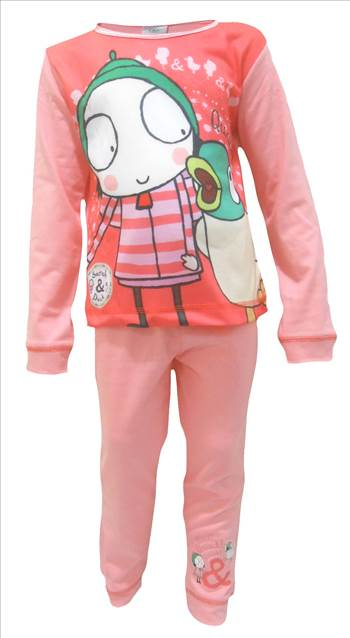 Sarah & Duck Pyjamas PG232 (2).JPG by Thingimijigs
