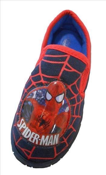 SPIDERMAN CHENERY Slippers.JPG by Thingimijigs
