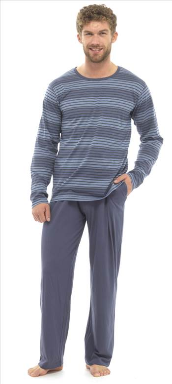 Mens Jersey Pyjamas BLue HT339B_2.jpg by Thingimijigs