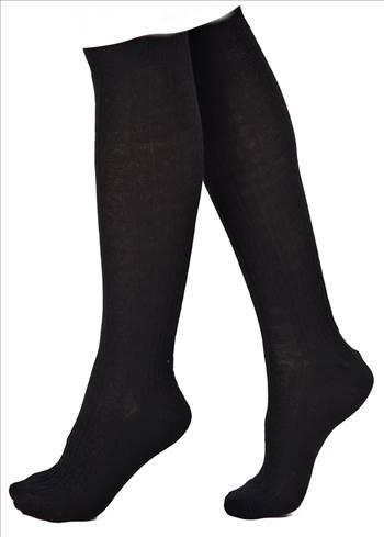 Black Knee High Socks.jpg by Thingimijigs