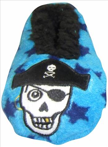 Boys 3d Slippers Pirate.JPG by Thingimijigs