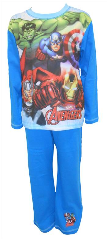 Marvel Avengers Boys Pyjamas PB252.JPG by Thingimijigs