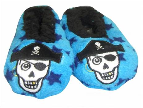 Boys 3d Slippers Pirate 2.jpg by Thingimijigs