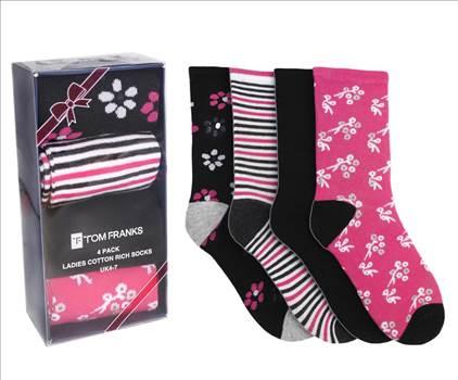 Ladies Socks SK400 Pink.jpg by Thingimijigs