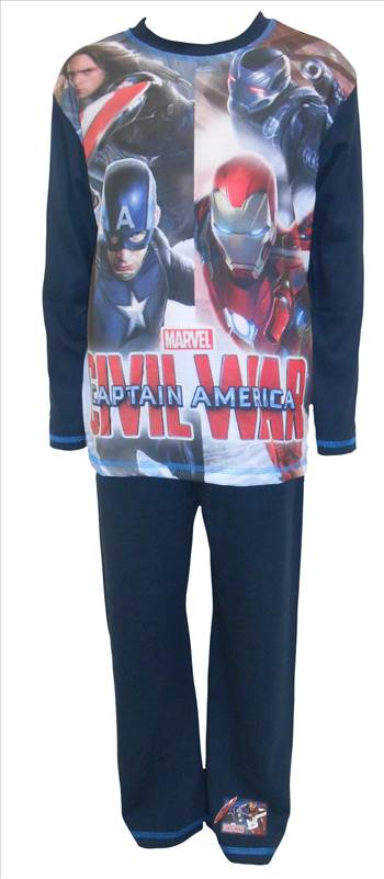 Civil War Boys Pyjamas PB254.JPG by Thingimijigs