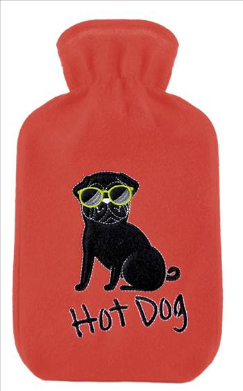 Hot Dog Hot water Bottle.jpg by Thingimijigs