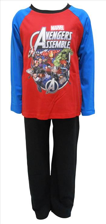 MArvel Avengers Boys Pyjamas PB263.JPG by Thingimijigs