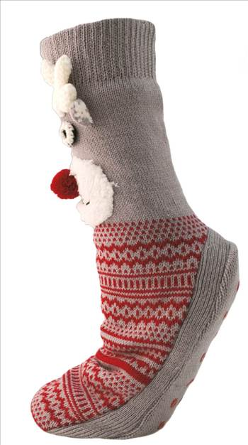Ladies Reindeer Socks 2 SK464.jpg by Thingimijigs