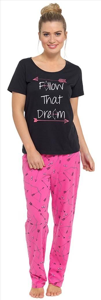 Ladies Pyjamas LN494 Pink.jpg by Thingimijigs