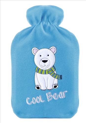 Cool Bear Hot water Bottle.jpg by Thingimijigs
