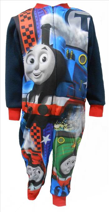 Thomas the Tank Engine Boys Fleece Onesie..JPG by Thingimijigs