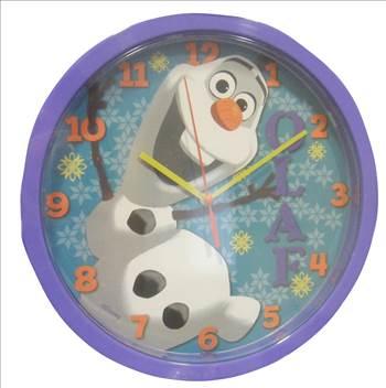 Disney Frozen Olaf Clock.JPG by Thingimijigs