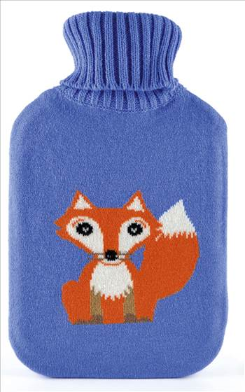 HH0231 Fox Hot Water Bottle.jpg by Thingimijigs