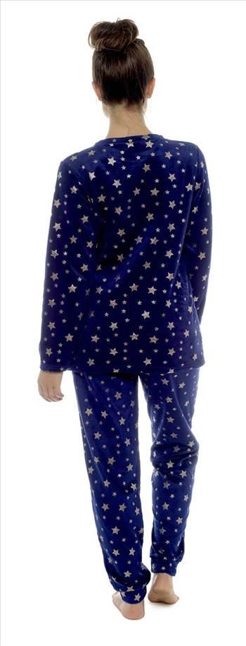 LN812 Ladies Star Fleece Twoeise Blue.jpg by Thingimijigs