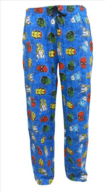 Mens Marvel Comics Lounge Pants MLP61.JPG by Thingimijigs