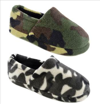 Camouflage SLippers.jpg by Thingimijigs