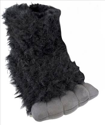 Gorilla Slippers - 1.jpg by Thingimijigs