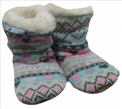 Ladies KNitted Boots Pastel a.JPG by Thingimijigs