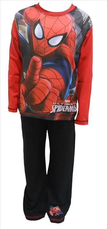 Spiderman Boys Pyjamas PB251.JPG by Thingimijigs