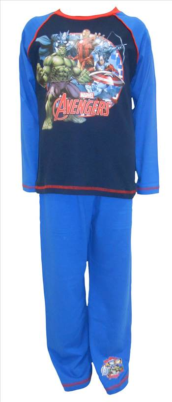 Marvel Avengers Boys Pyjamas PB245.JPG by Thingimijigs