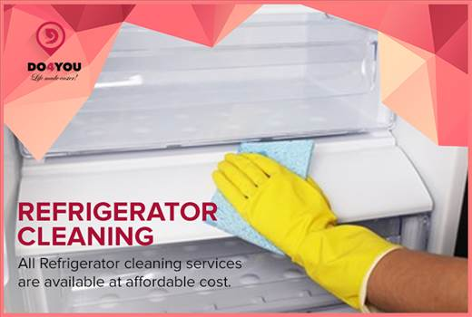 Refrigerator Cleaning at DO4YOU - Forgot to clean your refrigerator this weekend, we are here to help you out.\r\nTry out our new services at https://www.do4you.net/.\r\n