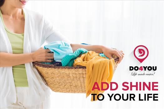 By shining with those perfect clothes laundered by DO4YOU by DO4YOU