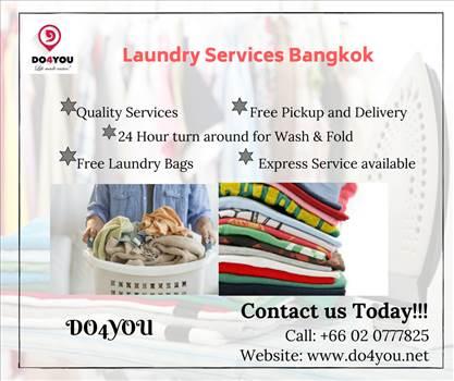 "Professional Laundry Service Provider ""DO4YOU"" in Bangkok by DO4YOU"