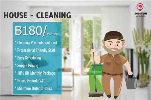 Professional House Cleaning Bangkok.png by DO4YOU