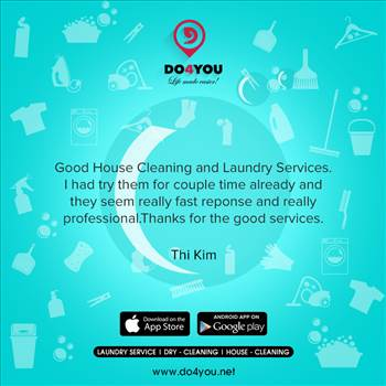 Get Customer Reviews of Laundry Services with Do4You by DO4YOU