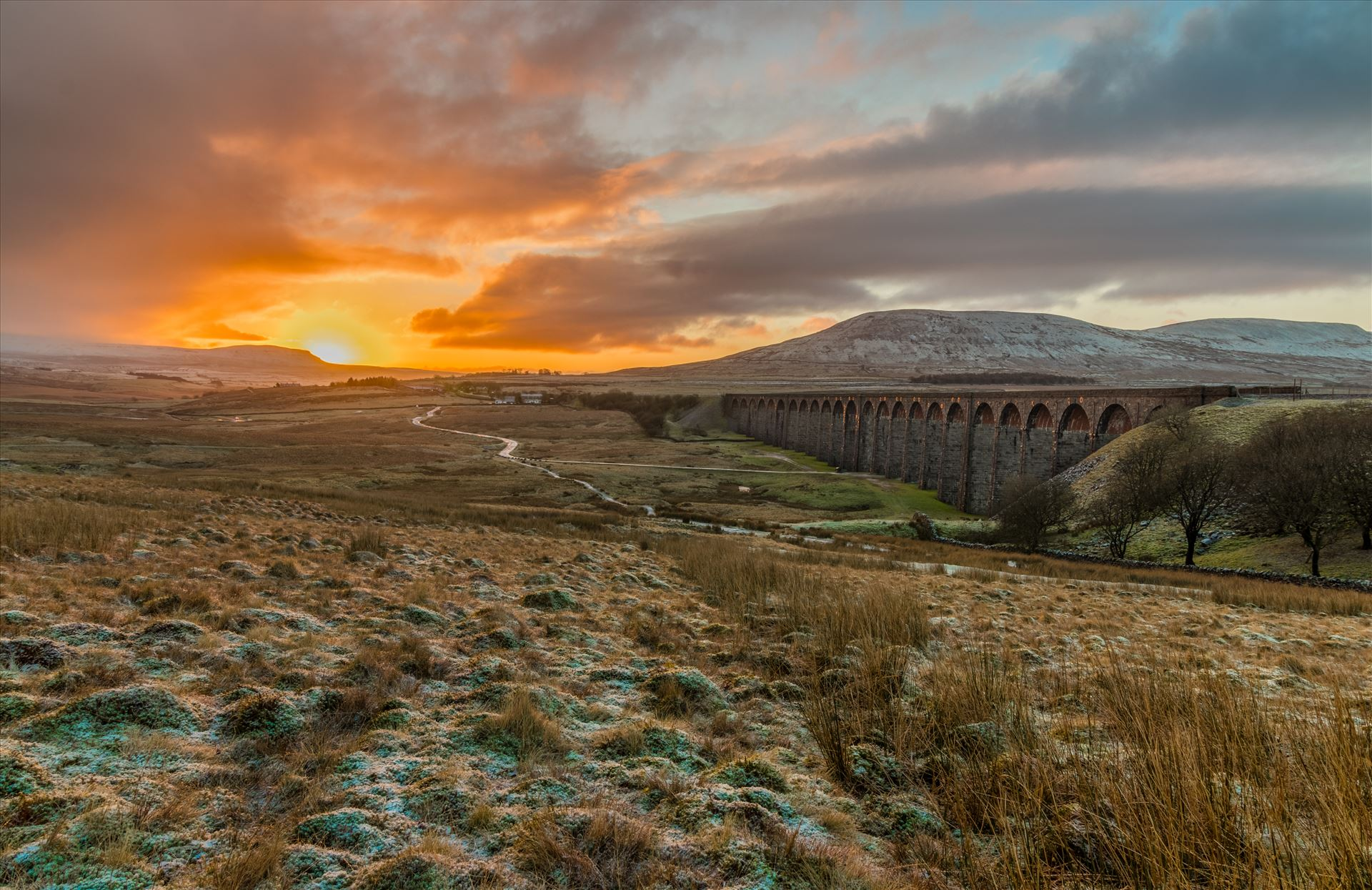 Sunrise and Sunset in the Yorkshire Dales