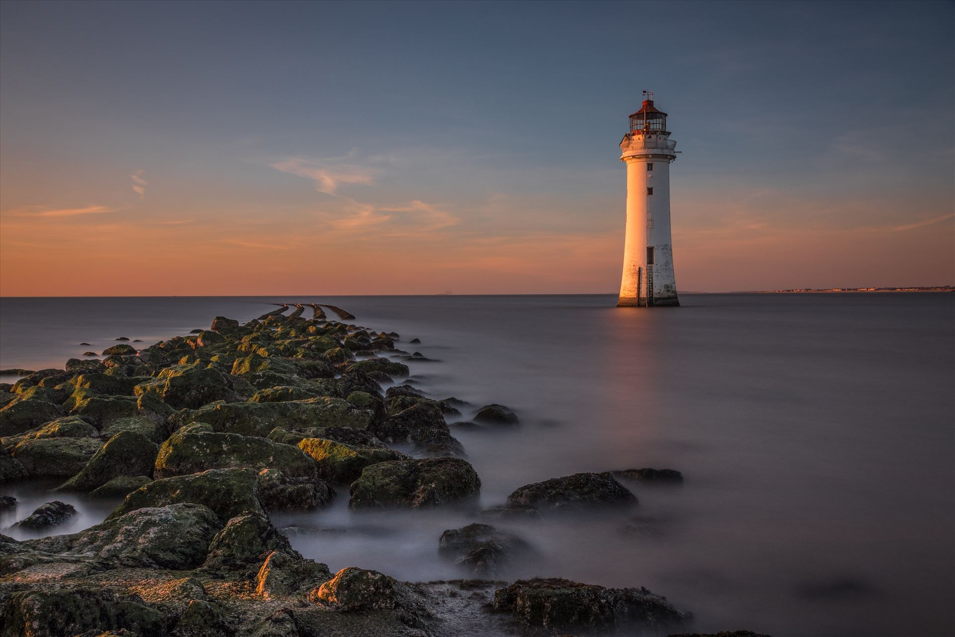 Perch Rock Lighthouse and Crosby Beach