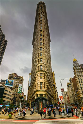 The Iconic Flatiron Building in New York by Tony Keogh Photography