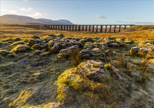 Sunrise at Ribblehead Viaduct in the Yorkshire Dales by Tony Keogh Photography