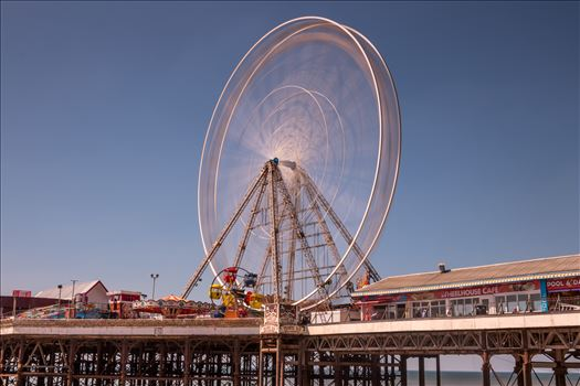 The Big Wheel on the Central Pier at Blackpool by Tony Keogh Photography