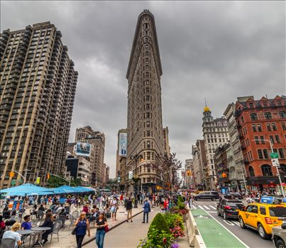 The Flatiron Building in New York by Tony Keogh Photography