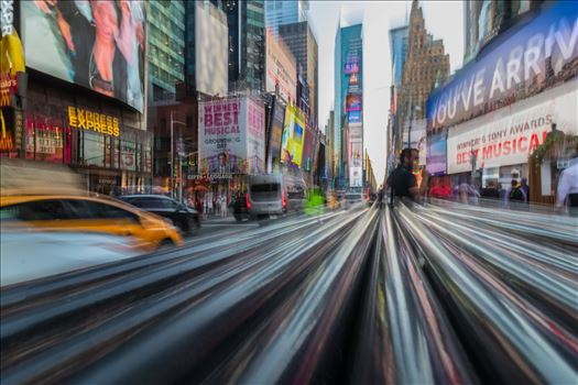 Times Square in New York by Tony Keogh Photography