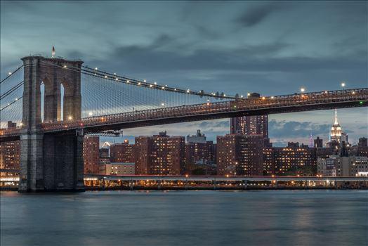 Brooklyn Bridge in New York by Tony Keogh Photography