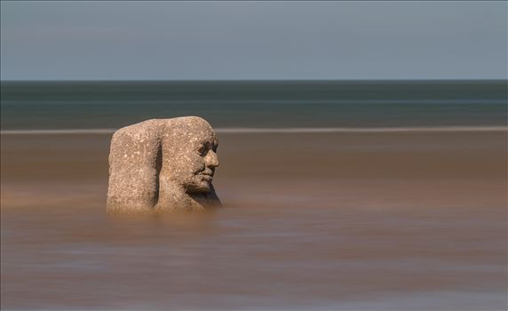 The Ogre on Cleveleys Beach by Tony Keogh Photography