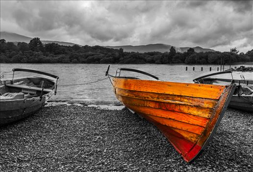 Derwent Water Rowing Boat by Tony Keogh Photography