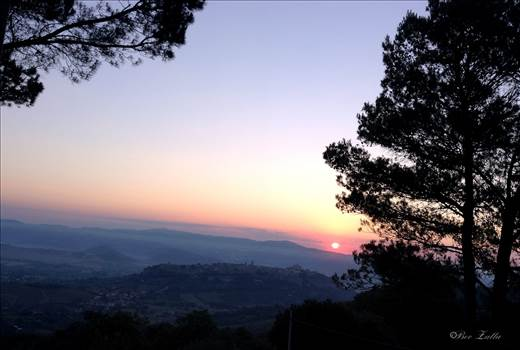 Sunrising over Orvietto, Umbria Italy 2015.jpg by WPC-156