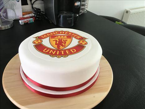 Manchester United cake. by Alison Wonderland Bakes