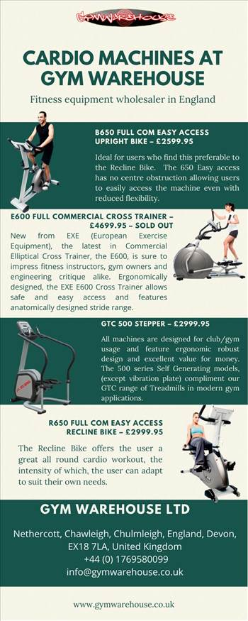 Cardio Machines at Gym Warehouse.jpg by Gymwarehouse