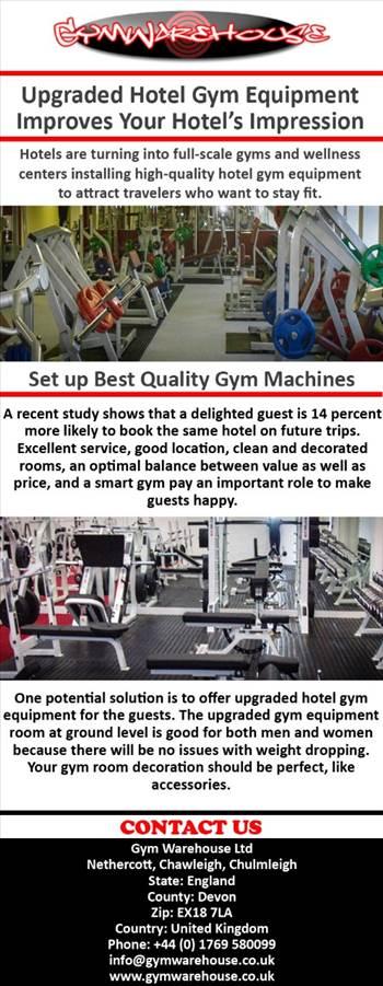 Upgraded Hotel Gym Equipment Improves Your Hotel's Impression.jpg by Gymwarehouse